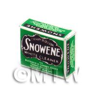 Dolls House Miniature Snowene White Cleaner Box