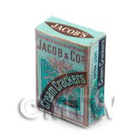 Dolls House Miniature - Dolls House Miniature Jacobs Cream Cracker Box