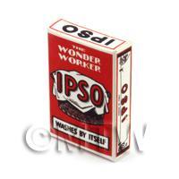 Dolls House Miniature IPSO Washing Powder Box