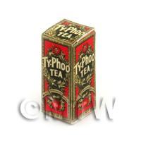 Dolls House Miniature Red Typhoo Tea Box