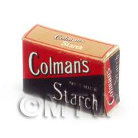 Dolls House Miniature Colmans No 1 Rice Starch Box