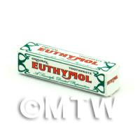 Dolls House Miniature Euthymol Toothpaste Box