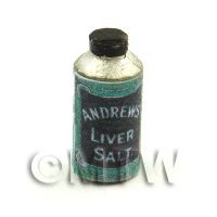 Dolls House Miniature Bottle Of Andrews Liver Salts