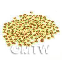 50 Christmas Parcels Cane Slices - Nail Art (CNS09)
