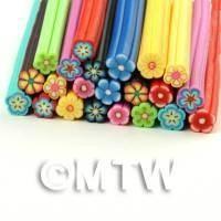 22 Mixed Flower Canes - Nail Art