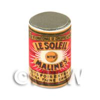 Dolls House Miniature Le Soleil Extra Fine Garden Peas Can (1890s)