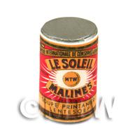 Dolls House Miniature Le Soleil Spring Soup Can (1890s)