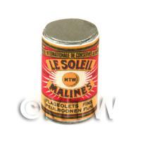 Dolls House Miniature Le Soleil Fine Flageolet Beans Can (1890s)