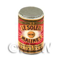 Dolls House Miniature Le Soleil Cut Beans Can (1890s)