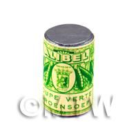 Dolls House Miniature Alibel Green Soup Can (1890s)