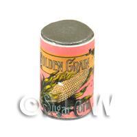 Dolls House Miniature Golden Grain Sugar Corn Can (1890s)