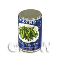 Dolls House Miniature Wayne Extra Sifted Beans Can (1930s)