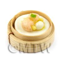 1/12th scale - Dolls House Miniature Handmade Dim Sum (Style 9)