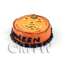 Miniature Novelty Halloween Cake Pumpkin Design