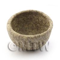 17mm Dolls House Miniature Stoneware Bowl