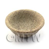 25mm Dolls House Miniature Stoneware Deep Bowl
