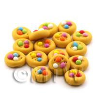 Dolls House Miniature Cookie Topped With Smarties
