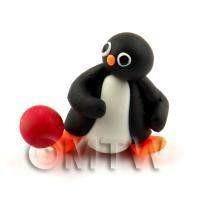 Dolls House Miniature Fun Penguin Figurine (8)