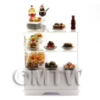 the side of Dolls House Miniature Dessert Counter