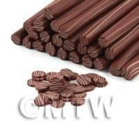 Milk Chocolate With White Chocolate Ripples (09NC4)