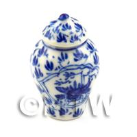 Dolls House Miniature - Dolls House Miniature Ultra Fine Porcelain Dynasty Vase