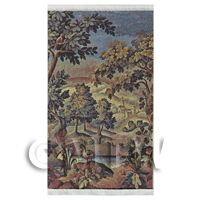Dolls House Miniature Large Woven Countryside Tapestry (TAPMR03)