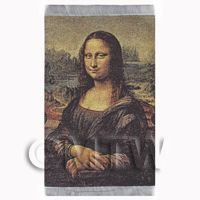 Dolls House Miniature Large Tapestry of Mona Lisa (TAPSR01)