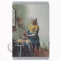 Dolls House Miniature Large Tapestry of The Kitchen Maid(TAPSR04)