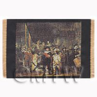 Dolls House Miniature Large Tapestry - The Night Watch (TAPSR05)