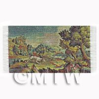 Dolls House Miniature Small Tapestry - Countryside (TAPXSR02)