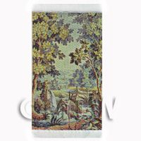 Dolls House Miniature Small Tapestry - Pelicans (TAPXSR04)