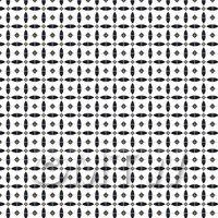 1:12th Black Circular Geometric Design Tile Sheet With Grey Grout