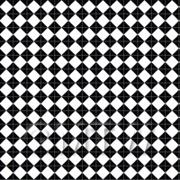 1/12th scale - 1:12th Classic Small Black And White Diamond Design Tile Sheet