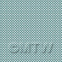 1:12th Sea Green Geometric Circle Design Tile Sheet With Grey Grout