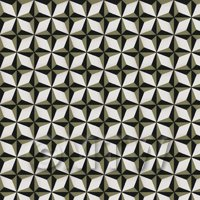 1:12th Classic Diamond Design Navy Blue And Green Grey Floor Tile Sheet