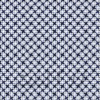 1:12th Small Blue And Black Geometric Design Tile Sheet With Grey Grout