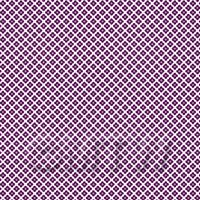 1:48th Purple Flower Design Tile Sheet With Pale Grey Grout