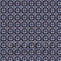 1:48th Dark Pink And Blue Aztec Style Tile Sheet With Dark Grey Grout