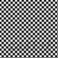 1:48th Classic Black And White Large Checkerboard Design Tile Sheet