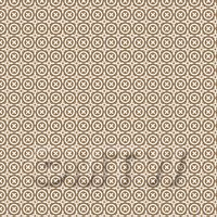 1:48th Pale Chestnut And White Floral Circle Design Tile Sheet