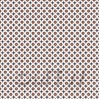 1:48th Dark Red and Navy Blue Target Design Tile Sheet With Grey Grout