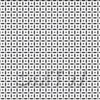 1:24th Black Circular Geometric Design Tile Sheet With Grey Grout