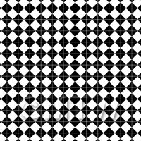 1:24th Large Classic Black And White Diamond Design Tile Sheet