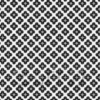 1:24th Black Flower Design Tile Sheet With Pale Grey Grout