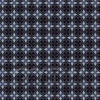 1:24th Blue And Black Interlocking Design Tile Sheet With Black Grout