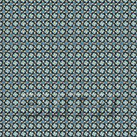 1:24th Blue And Black Star Design Tile Sheet With Grey Grout