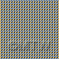 1:24th 3D Effect Blue, Yellow And Black Design Tile Sheet