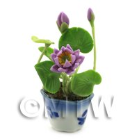 Dolls House Miniature Lotus Flower