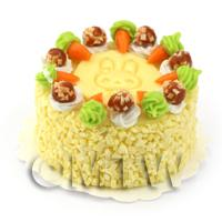 Dolls House Miniature Carrot Cake