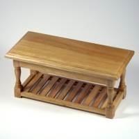 Dolls house Miniature Pine Table